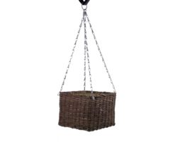 EUROPALMS Cubic flower pot, hanging or standing