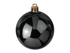 EUROPALMS Deco Ball 10cm, black 4x