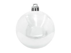 EUROPALMS Deco Ball 10cm, white 4x