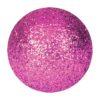 EUROPALMS Deco Ball 3,5cm, pink, glitter 48x