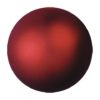 EUROPALMS Deco Ball 3,5cm, red, metallic 48x