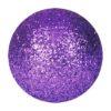 EUROPALMS Deco Ball 3,5cm, violet, glitter 48x