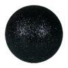 EUROPALMS Deco Ball 6cm, black, glitter 6x