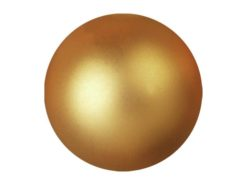 EUROPALMS Deco Ball 6cm, gold, metallic 6x
