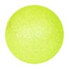 EUROPALMS Deco Ball 6cm, lemon, glitter 6x
