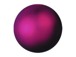 EUROPALMS Deco Ball 6cm, pink, metallic 6x