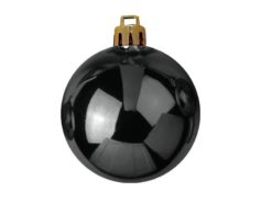 EUROPALMS Deco Ball 7cm, black 6x