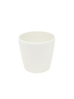 EUROPALMS Deco cachepot LUNA-20, round, white