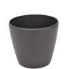 EUROPALMS Deco cachepot LUNA-33, round, espresso