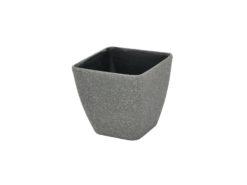 EUROPALMS Deco cachepot STONA-47, rectangular, grey