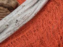 EUROPALMS Deco fabric, broad, orange, 76x500cm