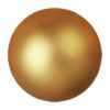 EUROPALMS Decoball 3,5cm, gold, metallic 48x