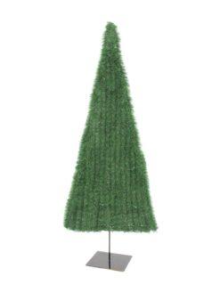 EUROPALMS Fir tree, flat, light green, 120cm