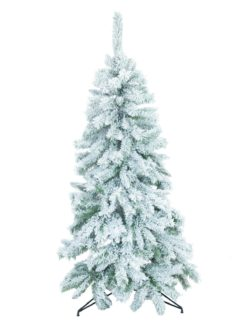 EUROPALMS Fir tree, flocked, 150cm