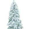 EUROPALMS Fir tree, flocked, 210cm