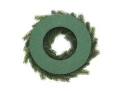 EUROPALMS Fir wreath, PE, 45cm