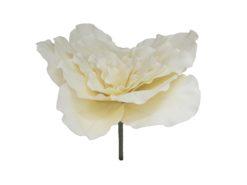 EUROPALMS Giant Flower (EVA), cream white, 80cm