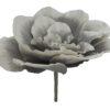 EUROPALMS Giant Flower (EVA), stone grey, 80cm