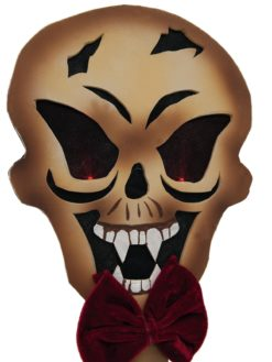 EUROPALMS Halloween skull with picker