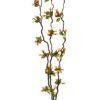 EUROPALMS Heather twig, with LEDs, 180cm