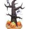 EUROPALMS Inflatable figure Spooky Tree, 240cm