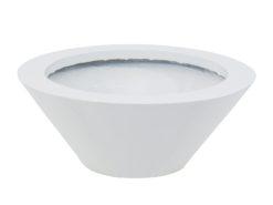 EUROPALMS LEICHTSIN BOWL-15, shiny-white