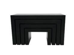 EUROPALMS LEICHTSIN DECO TABLES, black