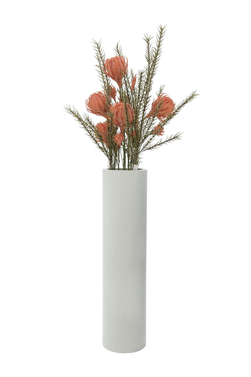 Europalms leichtsin tower 120 shiny white su for Vasi in terracotta economici