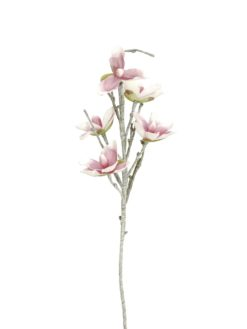 EUROPALMS Magnolia branch (EVA), white pink