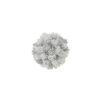 EUROPALMS Pine ball, flocked, 15cm
