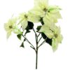 EUROPALMS Poinsettia bush, cream, 60cm