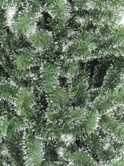 EUROPALMS Premium Fir tree, green-white, 180cm
