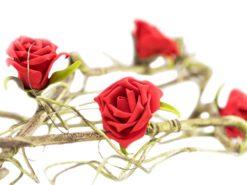 EUROPALMS Rose Garland (EVA), red