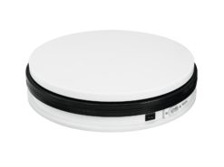 EUROPALMS Rotary Plate 25cm up to 25kg white