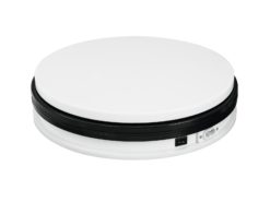 EUROPALMS Rotary Plate 45cm up to 50kg white
