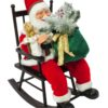 EUROPALMS Santaclaus with rocking chair, 80cm