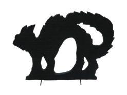 EUROPALMS Silhouette Cat, 60cm
