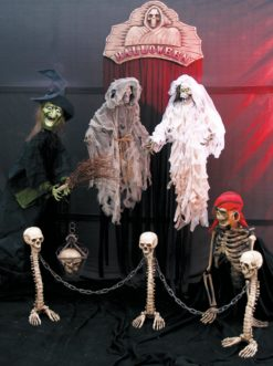 EUROPALMS Skull lantern 39cm