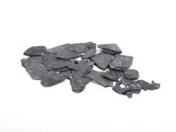 EUROPALMS Slate Chippings, black, 13kg