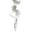 EUROPALMS Sororoca branch white 150-180cm