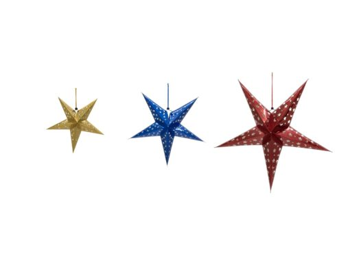 EUROPALMS Star Lantern, Paper, gold, 50 cm
