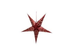 EUROPALMS Star Lantern, Paper, red, 40 cm