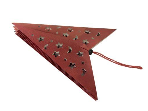 EUROPALMS Star Lantern, Paper, red, 75 cm