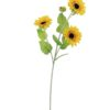 EUROPALMS Sunflower Branch x 3, 70cm