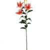 EUROPALMS Tiger lily, orange, 97cm