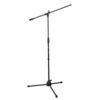 Eco Microphones stand with boom arm 890-1.460 mm componente base in plastica