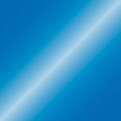 Electric confetti cannon 50cm, Blu metallico