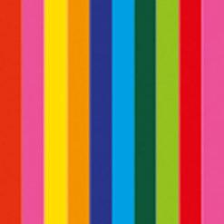 Electric confetti cannon 50cm, Multicolore