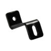 Eurotrack - Universal mounting bracket Nero (rivestimento a polvere)