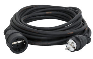 Ext. Cable Schuko/Schuko Titanex with PCE 20m 3 x 1.5mm Titanex con ABL